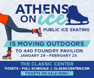 Athens Ice Skating - outside 2018