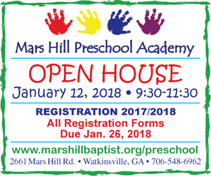 Mars Hill Preschool Academy Open House