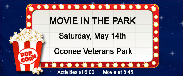 Movie in the Park, Oconee Veterans Park 2016
