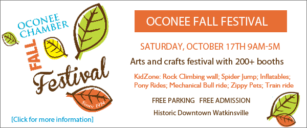 Oconee Chamber Fall Festival