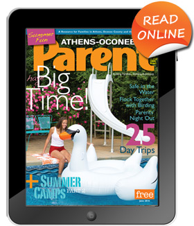 Tablet with magazine cover