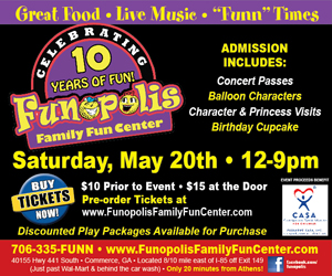 Funopolis 10 Year Anniversary Party 5-20-18
